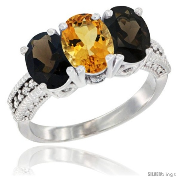 https://www.silverblings.com/58509-thickbox_default/14k-white-gold-natural-citrine-smoky-topaz-ring-3-stone-7x5-mm-oval-diamond-accent.jpg