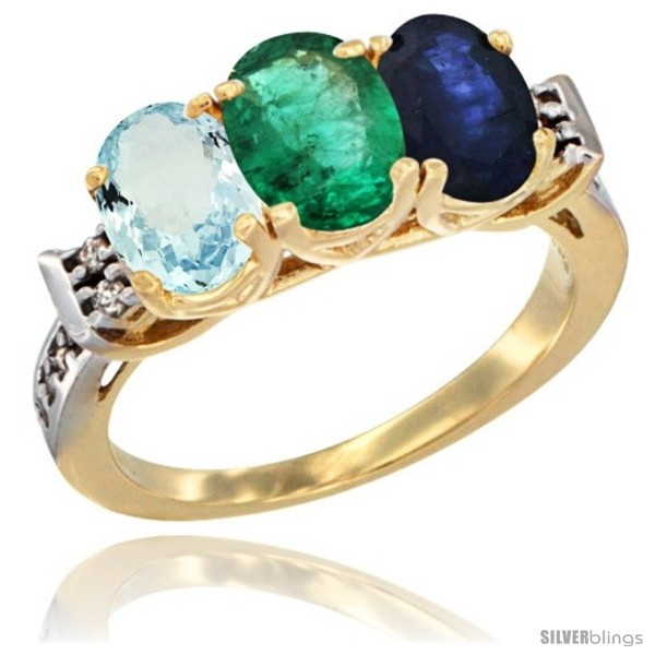 https://www.silverblings.com/58551-thickbox_default/10k-yellow-gold-natural-aquamarine-emerald-blue-sapphire-ring-3-stone-oval-7x5-mm-diamond-accent.jpg