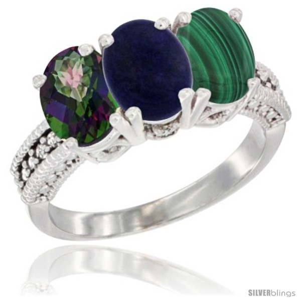 https://www.silverblings.com/58643-thickbox_default/10k-white-gold-natural-mystic-topaz-lapis-malachite-ring-3-stone-oval-7x5-mm-diamond-accent.jpg