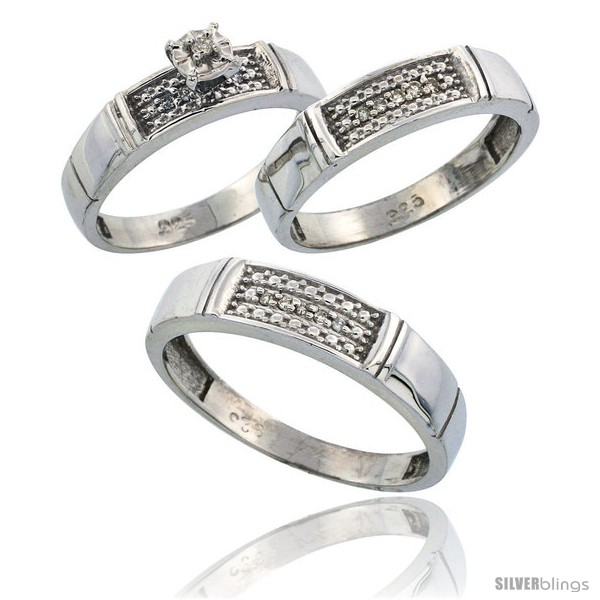 https://www.silverblings.com/58822-thickbox_default/sterling-silver-3-piece-trio-his-5mm-hers-4-5mm-diamond-wedding-band-set-w-0-13-carat-brilliant-cut-diamonds.jpg