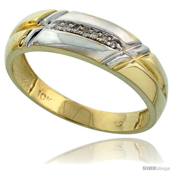 https://www.silverblings.com/58862-thickbox_default/10k-yellow-gold-mens-diamond-wedding-band-1-4-in-wide-style-ljy105mb.jpg