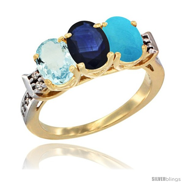 https://www.silverblings.com/58902-thickbox_default/10k-yellow-gold-natural-aquamarine-blue-sapphire-turquoise-ring-3-stone-oval-7x5-mm-diamond-accent.jpg