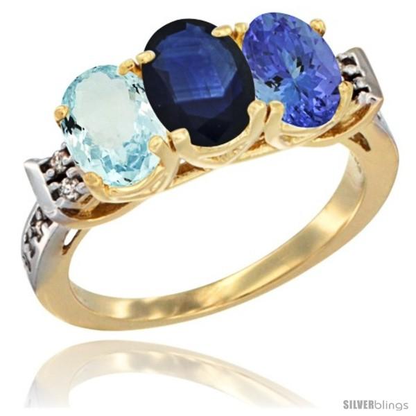 https://www.silverblings.com/59111-thickbox_default/10k-yellow-gold-natural-aquamarine-blue-sapphire-tanzanite-ring-3-stone-oval-7x5-mm-diamond-accent.jpg