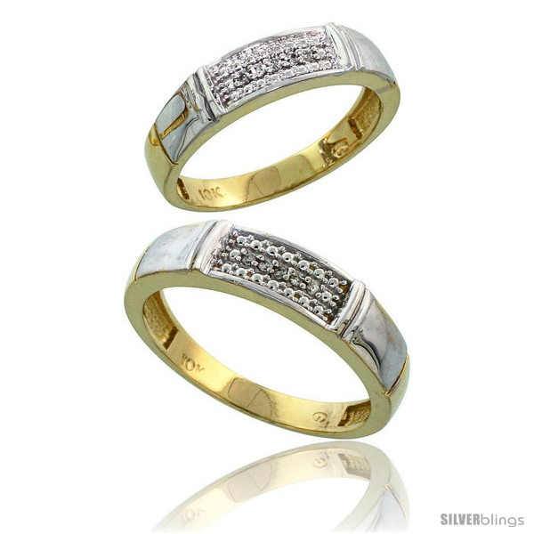 https://www.silverblings.com/59222-thickbox_default/10k-yellow-gold-diamond-2-piece-wedding-ring-set-his-5mm-hers-4-5mm-style-ljy107w2.jpg