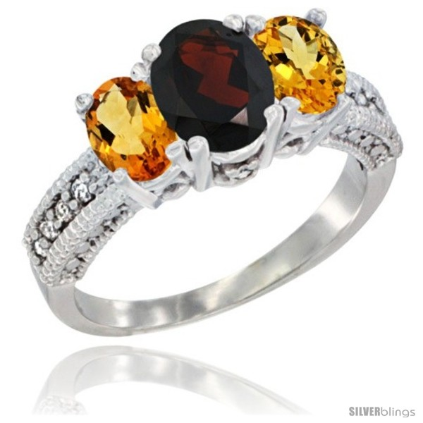 https://www.silverblings.com/59241-thickbox_default/10k-white-gold-ladies-oval-natural-garnet-3-stone-ring-citrine-sides-diamond-accent.jpg