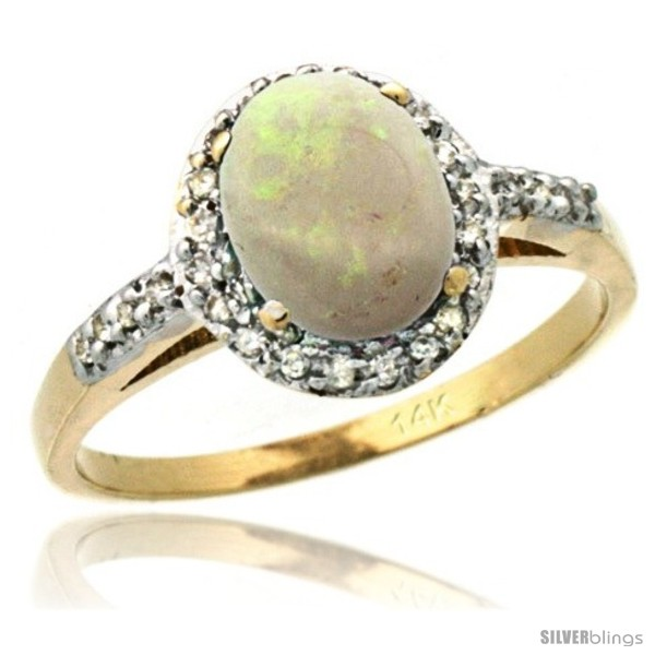 https://www.silverblings.com/59399-thickbox_default/14k-yellow-gold-diamond-opal-ring-oval-stone-8x6-mm-1-17-ct-3-8-in-wide.jpg