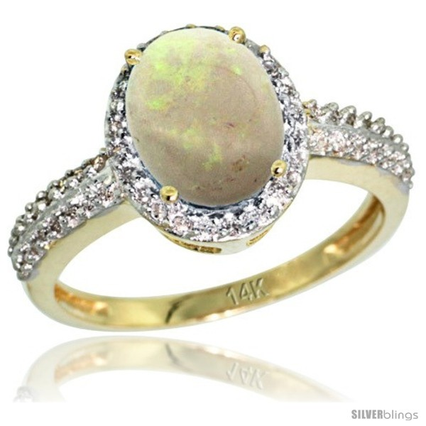 https://www.silverblings.com/59411-thickbox_default/14k-yellow-gold-diamond-opal-ring-oval-stone-9x7-mm-1-76-ct-1-2-in-wide.jpg