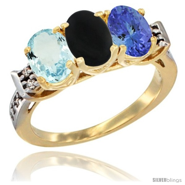 https://www.silverblings.com/59490-thickbox_default/10k-yellow-gold-natural-aquamarine-black-onyx-tanzanite-ring-3-stone-oval-7x5-mm-diamond-accent.jpg