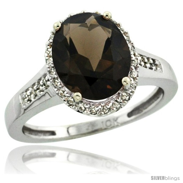 https://www.silverblings.com/59544-thickbox_default/14k-white-gold-diamond-smoky-topaz-ring-2-4-ct-oval-stone-10x8-mm-1-2-in-wide.jpg