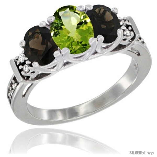 https://www.silverblings.com/59712-thickbox_default/14k-white-gold-natural-peridot-smoky-topaz-ring-3-stone-oval-diamond-accent.jpg