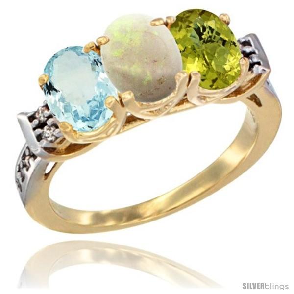 https://www.silverblings.com/59845-thickbox_default/10k-yellow-gold-natural-aquamarine-opal-lemon-quartz-ring-3-stone-oval-7x5-mm-diamond-accent.jpg