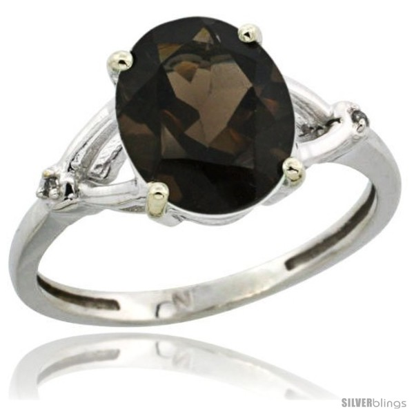 https://www.silverblings.com/59896-thickbox_default/14k-white-gold-diamond-smoky-topaz-ring-2-4-ct-oval-stone-10x8-mm-3-8-in-wide.jpg