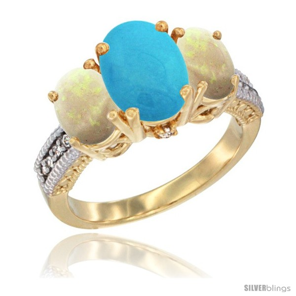 https://www.silverblings.com/59917-thickbox_default/14k-yellow-gold-ladies-3-stone-oval-natural-turquoise-ring-opal-sides-diamond-accent.jpg