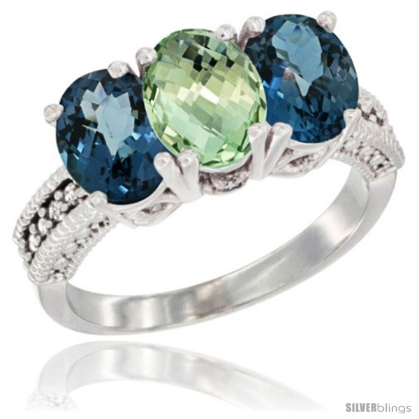 https://www.silverblings.com/59990-thickbox_default/10k-white-gold-natural-green-amethyst-london-blue-topaz-sides-ring-3-stone-oval-7x5-mm-diamond-accent.jpg