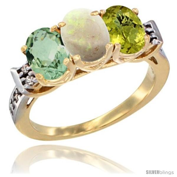 https://www.silverblings.com/6003-thickbox_default/10k-yellow-gold-natural-green-amethyst-opal-lemon-quartz-ring-3-stone-oval-7x5-mm-diamond-accent.jpg