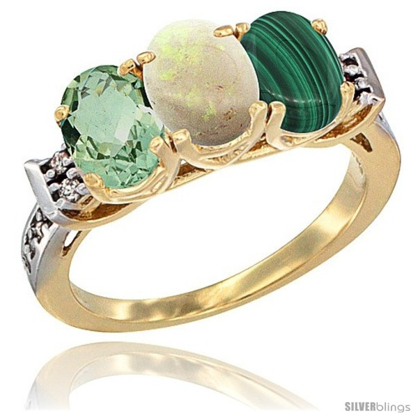 https://www.silverblings.com/6009-thickbox_default/10k-yellow-gold-natural-green-amethyst-opal-malachite-ring-3-stone-oval-7x5-mm-diamond-accent.jpg