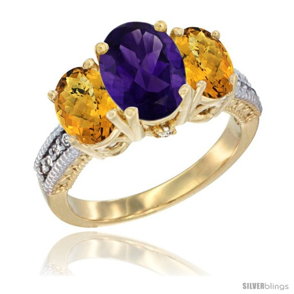 https://www.silverblings.com/60145-thickbox_default/14k-yellow-gold-ladies-3-stone-oval-natural-amethyst-ring-whisky-quartz-sides-diamond-accent.jpg