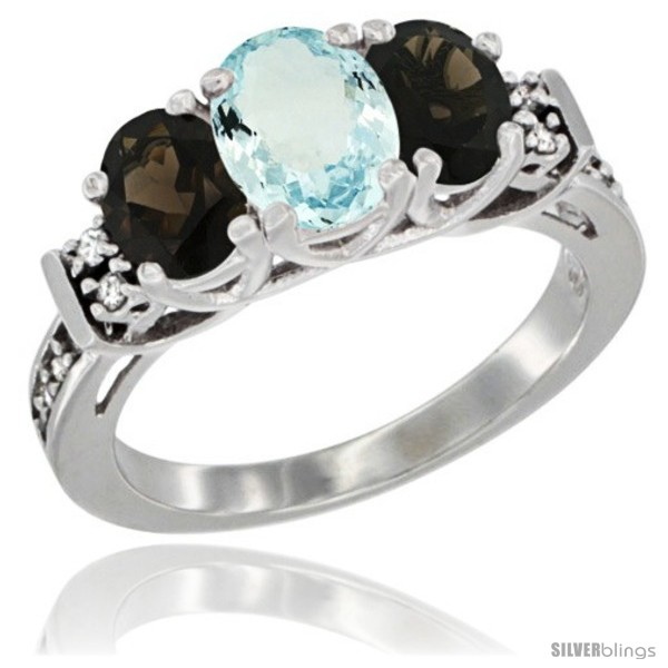 https://www.silverblings.com/60319-thickbox_default/14k-white-gold-natural-aquamarine-smoky-topaz-ring-3-stone-oval-diamond-accent.jpg
