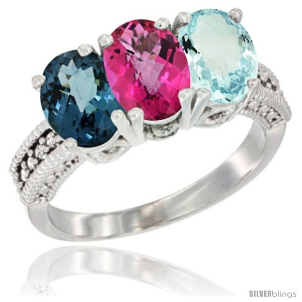 https://www.silverblings.com/60358-thickbox_default/10k-white-gold-natural-london-blue-topaz-pink-topaz-aquamarine-ring-3-stone-oval-7x5-mm-diamond-accent.jpg