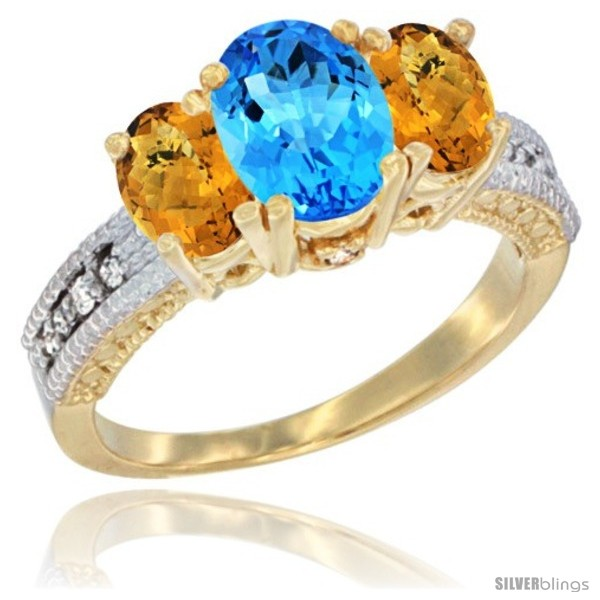 https://www.silverblings.com/60371-thickbox_default/14k-yellow-gold-ladies-oval-natural-swiss-blue-topaz-3-stone-ring-whisky-quartz-sides-diamond-accent.jpg