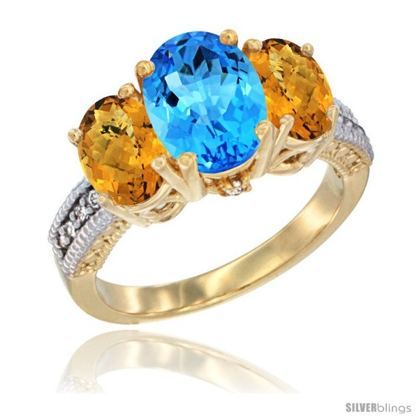 https://www.silverblings.com/60374-thickbox_default/14k-yellow-gold-ladies-3-stone-oval-natural-swiss-blue-topaz-ring-whisky-quartz-sides-diamond-accent.jpg