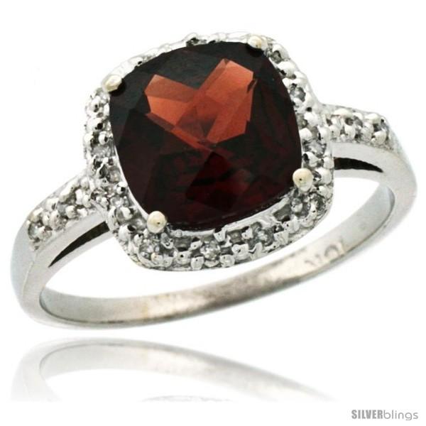 https://www.silverblings.com/6048-thickbox_default/14k-white-gold-diamond-garnet-ring-2-08-ct-cushion-cut-8-mm-stone-1-2-in-wide.jpg