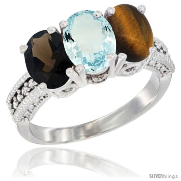 https://www.silverblings.com/60509-thickbox_default/14k-white-gold-natural-smoky-topaz-aquamarine-tiger-eye-ring-3-stone-7x5-mm-oval-diamond-accent.jpg