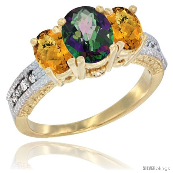 https://www.silverblings.com/60551-thickbox_default/14k-yellow-gold-ladies-oval-natural-mystic-topaz-3-stone-ring-whisky-quartz-sides-diamond-accent.jpg