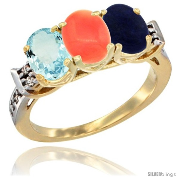 https://www.silverblings.com/60578-thickbox_default/10k-yellow-gold-natural-aquamarine-coral-lapis-ring-3-stone-oval-7x5-mm-diamond-accent.jpg