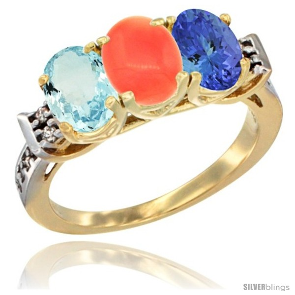 https://www.silverblings.com/60582-thickbox_default/10k-yellow-gold-natural-aquamarine-coral-tanzanite-ring-3-stone-oval-7x5-mm-diamond-accent.jpg