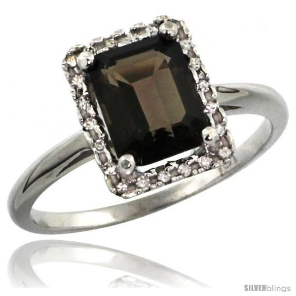 https://www.silverblings.com/60704-thickbox_default/14k-white-gold-diamond-smoky-topaz-ring-1-6-ct-emerald-shape-8x6-mm-1-2-in-wide.jpg