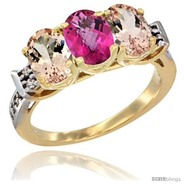https://www.silverblings.com/60776-thickbox_default/10k-yellow-gold-natural-pink-topaz-morganite-sides-ring-3-stone-oval-7x5-mm-diamond-accent.jpg