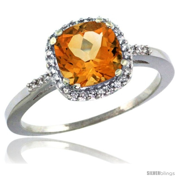 https://www.silverblings.com/60792-thickbox_default/10k-white-gold-diamond-citrine-ring-1-5-ct-checkerboard-cut-cushion-shape-7-mm-3-8-in-wide.jpg