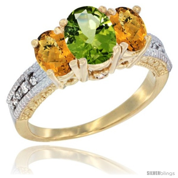 https://www.silverblings.com/60894-thickbox_default/14k-yellow-gold-ladies-oval-natural-peridot-3-stone-ring-whisky-quartz-sides-diamond-accent.jpg