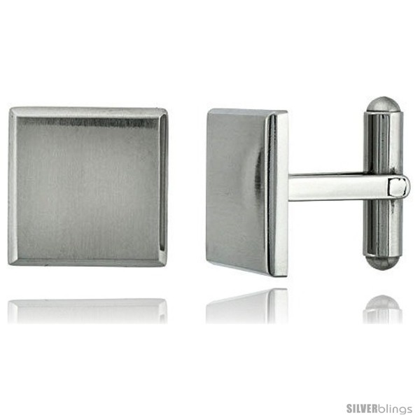 https://www.silverblings.com/610-thickbox_default/stainless-steel-plain-square-cufflinks-beveled-edges-satin-finished-5-8-x-5-8-in.jpg