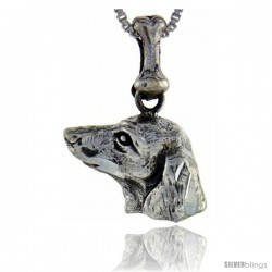 Sterling Silver Dachshunds Dog Pendant -Style Pa1058