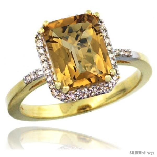 https://www.silverblings.com/61974-thickbox_default/14k-yellow-gold-diamond-whisky-quartz-ring-2-53-ct-emerald-shape-9x7-mm-1-2-in-wide.jpg