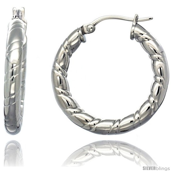 https://www.silverblings.com/620-thickbox_default/surgical-steel-1-1-4-in-hoop-earrings-candy-stripe-embossed-pattern-4-mm-tube-feather-weigh.jpg