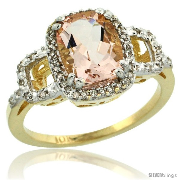 https://www.silverblings.com/62117-thickbox_default/10k-yellow-gold-diamond-morganite-ring-2-ct-checkerboard-cut-cushion-shape-9x7-mm-1-2-in-wide.jpg