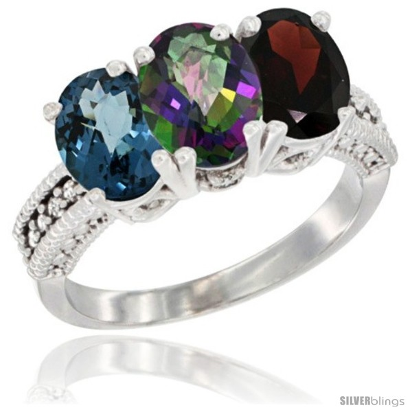 https://www.silverblings.com/62276-thickbox_default/10k-white-gold-natural-london-blue-topaz-mystic-topaz-garnet-ring-3-stone-oval-7x5-mm-diamond-accent.jpg