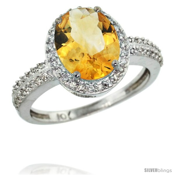 https://www.silverblings.com/62356-thickbox_default/10k-white-gold-diamond-citrine-ring-oval-stone-10x8-mm-2-4-ct-1-2-in-wide.jpg