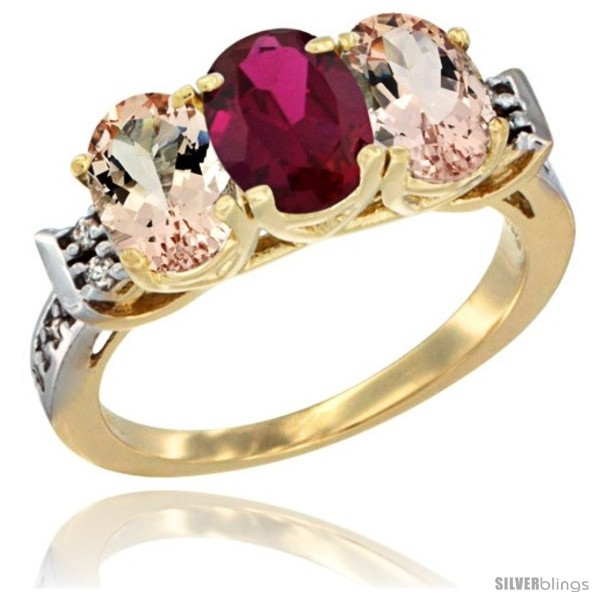 https://www.silverblings.com/62427-thickbox_default/10k-yellow-gold-natural-ruby-morganite-sides-ring-3-stone-oval-7x5-mm-diamond-accent.jpg