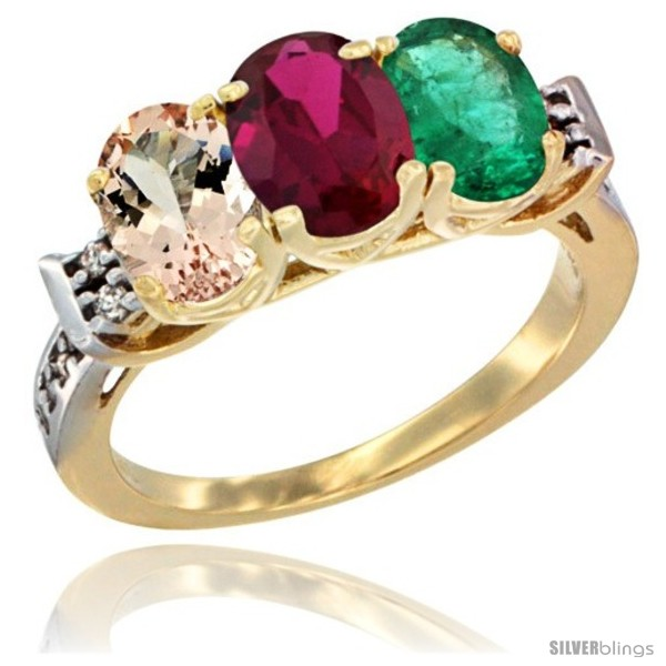 https://www.silverblings.com/62429-thickbox_default/10k-yellow-gold-natural-morganite-ruby-emerald-ring-3-stone-oval-7x5-mm-diamond-accent.jpg