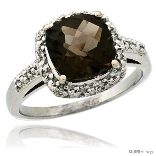 https://www.silverblings.com/62445-thickbox_default/14k-white-gold-diamond-smoky-topaz-ring-2-08-ct-cushion-cut-8-mm-stone-1-2-in-wide.jpg