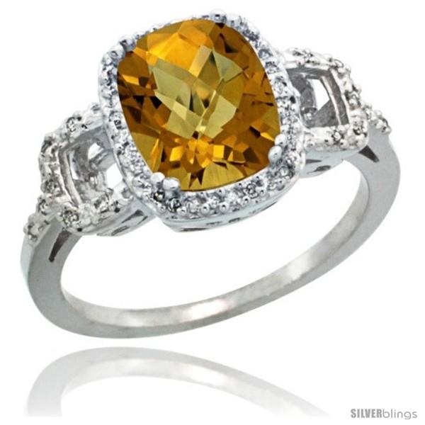 https://www.silverblings.com/62510-thickbox_default/14k-white-gold-diamond-whisky-quartz-ring-2-ct-checkerboard-cut-cushion-shape-9x7-mm-1-2-in-wide.jpg