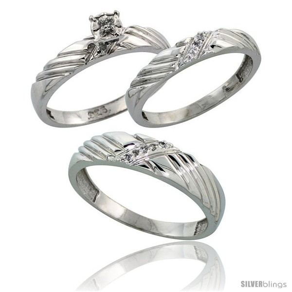 https://www.silverblings.com/62566-thickbox_default/sterling-silver-3-piece-trio-his-5mm-hers-3-5mm-diamond-wedding-band-set-w-0-11-carat-brilliant-style-ag118w3.jpg