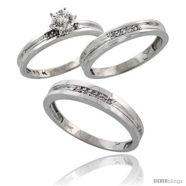 https://www.silverblings.com/62626-thickbox_default/sterling-silver-3-piece-trio-his-4mm-hers-3-5mm-diamond-wedding-band-set-w-0-13-carat-brilliant-style-ag119w3.jpg