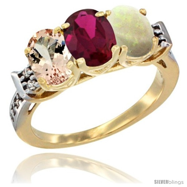 https://www.silverblings.com/62735-thickbox_default/10k-yellow-gold-natural-morganite-ruby-opal-ring-3-stone-oval-7x5-mm-diamond-accent.jpg