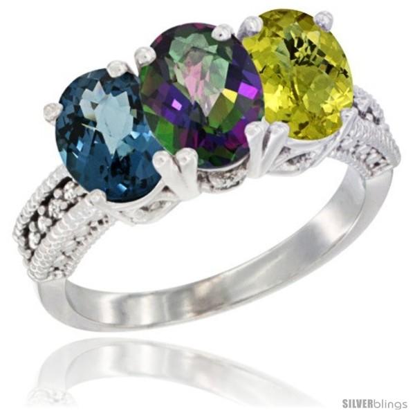 https://www.silverblings.com/62778-thickbox_default/10k-white-gold-natural-london-blue-topaz-mystic-topaz-lemon-quartz-ring-3-stone-oval-7x5-mm-diamond-accent.jpg