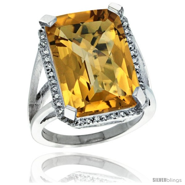 https://www.silverblings.com/62828-thickbox_default/14k-white-gold-diamond-whisky-quartz-ring-14-96-ct-emerald-shape-18x13-mm-stone-13-16-in-wide.jpg
